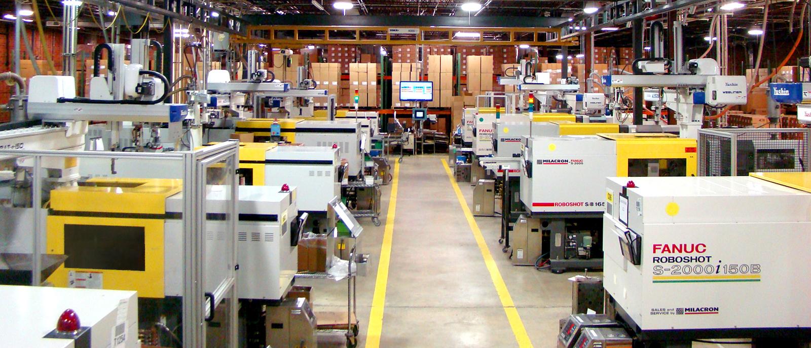 Custom Injection Molding Facility
